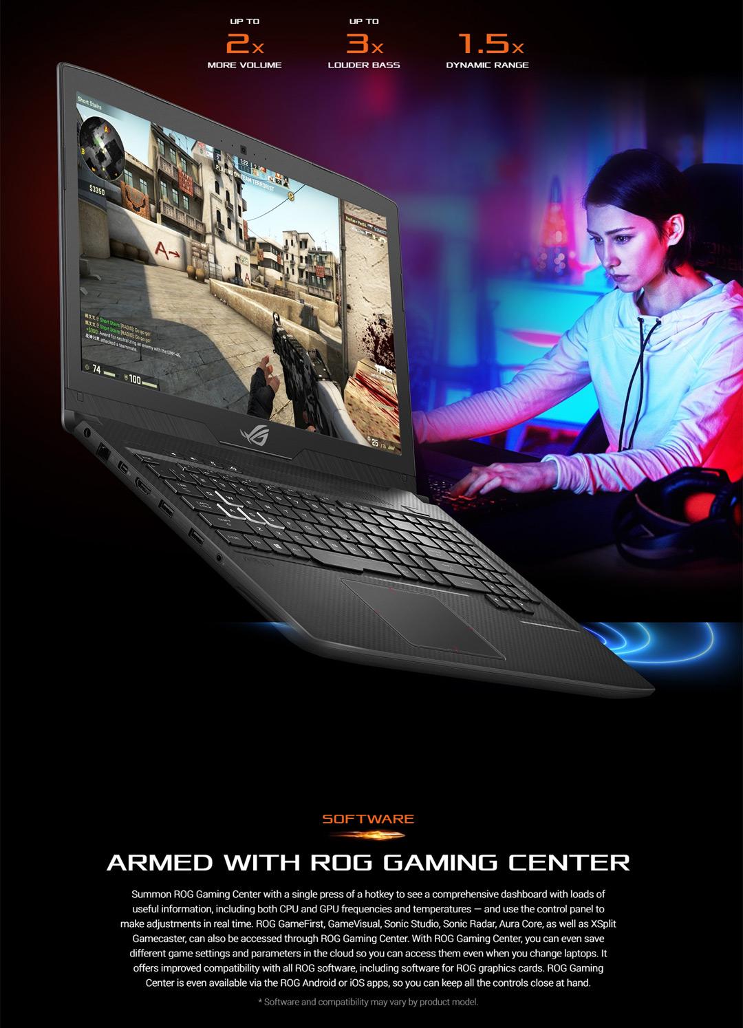 Asus ROG Strix GL504GW-DS74 SCAR Edition, nVidia RTX 2070 8GB, 8th Gen  Intel Core i7-8750H
