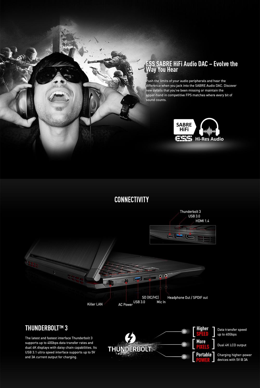 MSI GS43VR Phantom Pro-069 nVidia GTX 1060 Desktop GPU 6GB GDDR5, 7th Gen  Intel Core i7