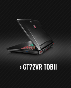 MSI GT72VR Tobii Gaming Laptop with nVidia GTX 1070 / Tobii Eye Tracker